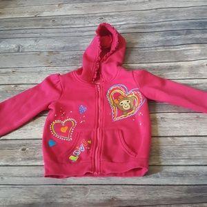 🌸$3 SALE! 2t hoodie pink